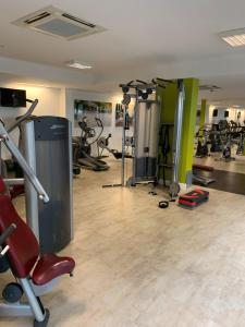The fitness center and/or fitness facilities at lovely 2 bedroom apartment