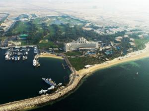 A bird's-eye view of JA Lake View Hotel (JA The Resort)