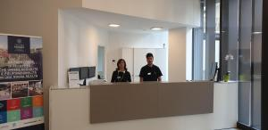 Staff members at Hotel Cascina Fossata & Residence