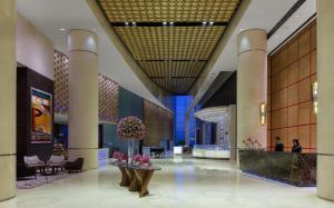 منطقة الاستقبال أو اللوبي في انتركونتيننتال دبي فيستيفال سيتي