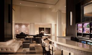 The lounge or bar area at La Concha Hotel & Spa