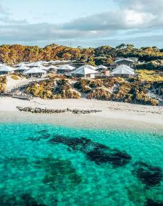 A bird's-eye view of Discovery Rottnest Island
