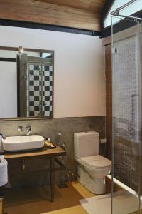 Ein Badezimmer in der Unterkunft swp eco lodge