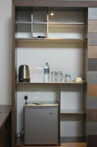 Küche/Küchenzeile in der Unterkunft swp eco lodge