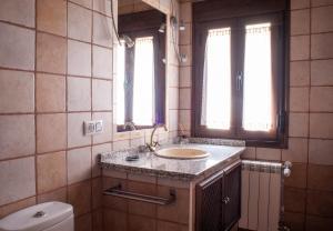 A bathroom at Ramajal Rural