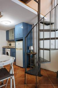 Una cocina o zona de cocina en Apartamento En El Centro