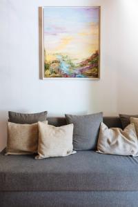 Zona de estar de Apartamento En El Centro