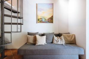 Cama o camas de una habitación en Apartamento En El Centro