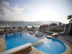 The swimming pool at or near Leonis Summer Houses