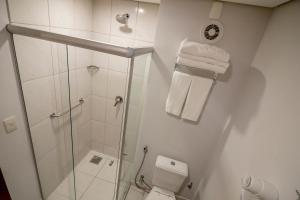 A bathroom at Ecologic Ville Resort