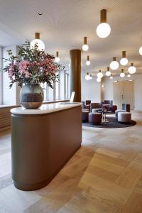 Lobby/Rezeption in der Unterkunft Hotel Walhalla