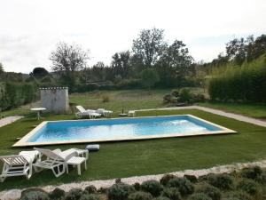 The swimming pool at or near Les Tourterelles