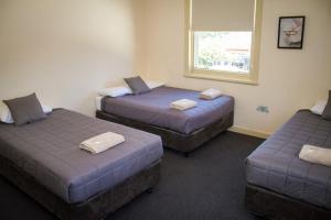 Postelja oz. postelje v sobi nastanitve Hotel Jesmond