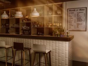 Salon ou bar de l'établissement the niu Dairy