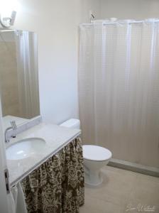 A bathroom at Hostel Luz da Lua