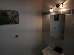Kúpeľňa v ubytovaní Galaxy Rooms & Studios