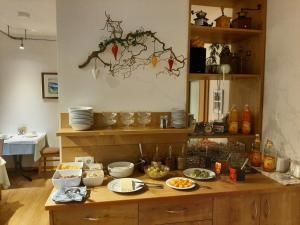 Ein Restaurant oder anderes Speiselokal in der Unterkunft Gasthof Anny