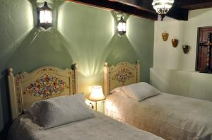 Cama o camas de una habitación en Casa Santa Lucia