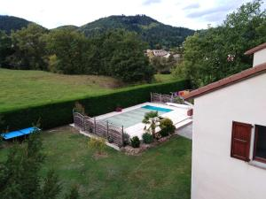 A view of the pool at Chambres des arrys or nearby