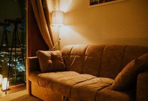 Гостиная зона в Romantic room in Moscow city
