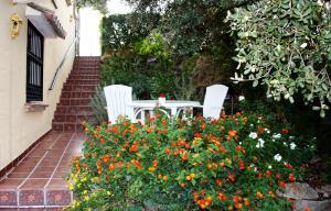 Jardín al aire libre en El Roble Holidays