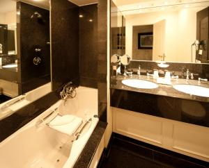 A bathroom at The Pand Hotel - Small Luxury Hotels of the World