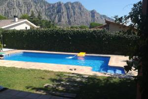 The swimming pool at or near Villa Montserrat, 600m2, piscina, jardín