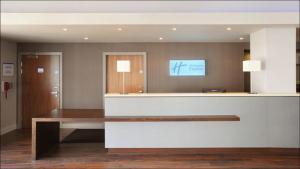 The lobby or reception area at Holiday Inn Express Liverpool Hoylake, an IHG hotel