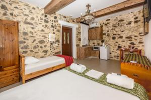A bed or beds in a room at Fairytale Elafonisi