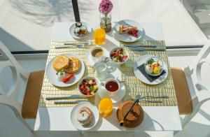 Breakfast options available to guests at Portals Hills Boutique Hotel
