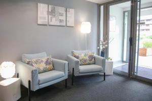 Coin salon dans l'établissement Zenitude Hôtel-Résidences Les Hauts Du Chazal
