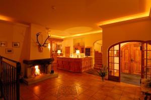 The lobby or reception area at Hotel Bellavista