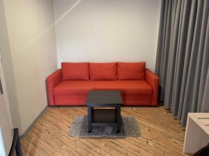 A seating area at Fonte Luminosa