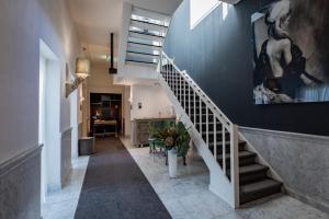 The lobby or reception area at Stadsvilla Mout Rotterdam-Schiedam