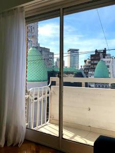 A balcony or terrace at Mi Silencio