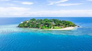 A bird's-eye view of Royal Davui Island Resort, Fiji