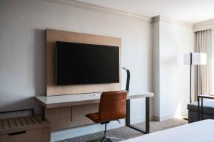 A television and/or entertainment center at Baltimore Marriott Waterfront