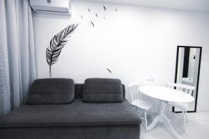 Гостиная зона в Апартаменты на Нагорной 16