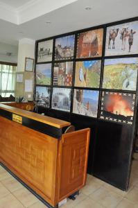 The lobby or reception area at Mekelle Hotel