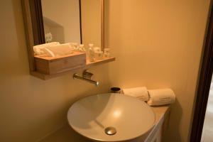 A bathroom at La Sommità Relais & Chateaux