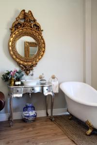 A bathroom at The Gregoire Boutique Villa