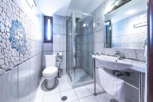 Kupatilo u objektu Thermios Apollon