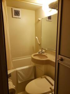 A bathroom at Hosplitality In Yawatajuku