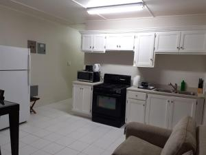 A kitchen or kitchenette at ICG Apartments