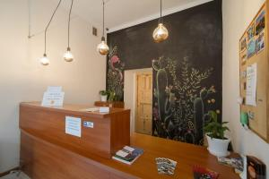 Lobby alebo recepcia v ubytovaní Hostel Cinnamon