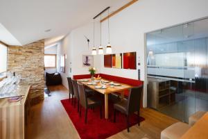 Küche/Küchenzeile in der Unterkunft Alpenappartement Bergkönig