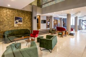 The lobby or reception area at Panorama Hotel & Spa