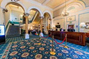 The lobby or reception area at The Palace Hotel Buxton & Spa