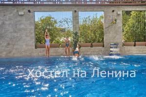 The swimming pool at or near Hostel na Lenina