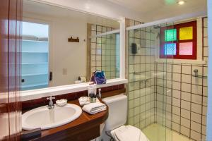 Un baño de Chez Pitu Praia Hotel